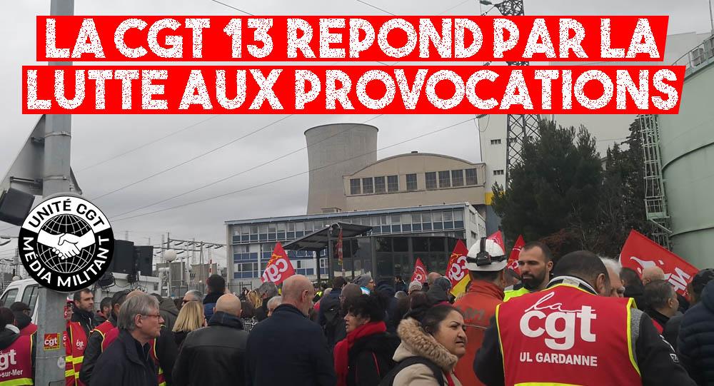 La CGT des Bouches-du-Rhône répond par la lutte aux provocations du pouvoir  - Unité CGT